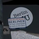 Aufkleber Berlin Pass ma uff Keule