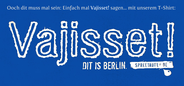Souvenir T-Shirt Berlin Vajisset