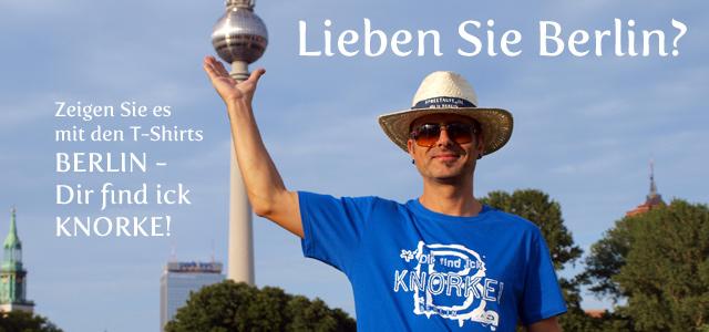 Fan T-Shirt Berlin dir find ick Knorke