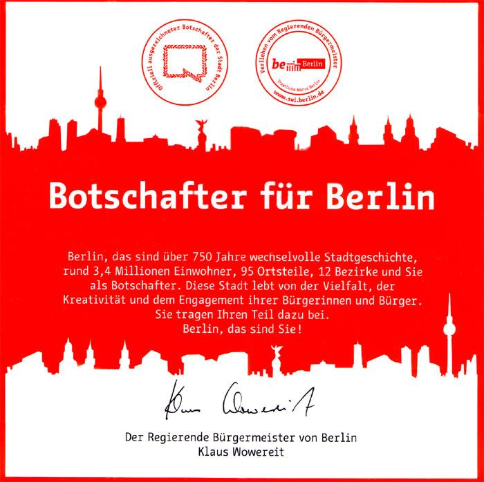 Botschafter Berlin