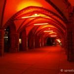 Oberbaumbrücke nachts beleuchtet