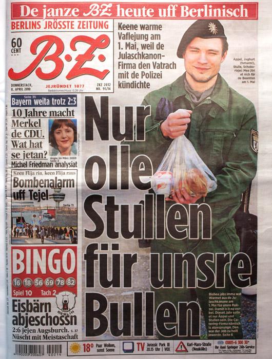BZ auf Berlinisch