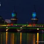 Schiffskorso Spree Oberbaumbrücke
